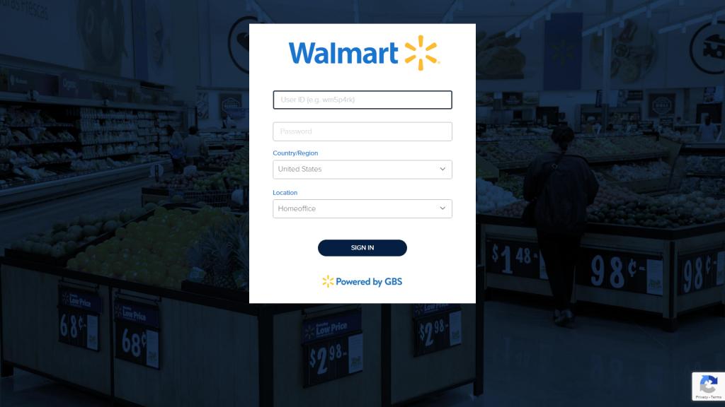 Login To WalmartOne