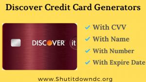 Discover Credit Card Generator