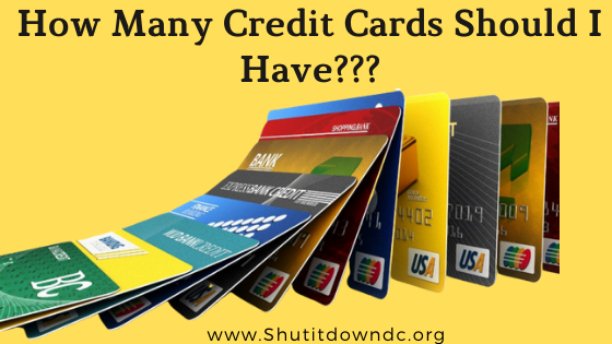 How many credit cards can i have