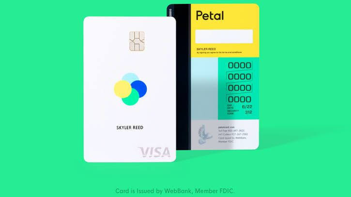 The Petal Cash Back Visa Card