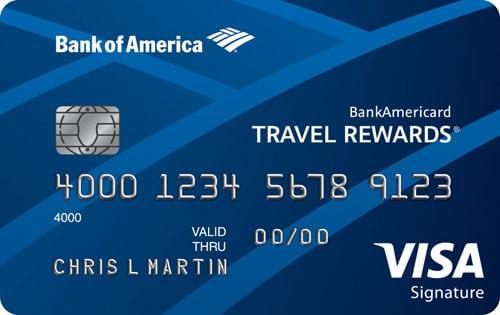 Bank of America® Travel Reward Visa® Credit Card