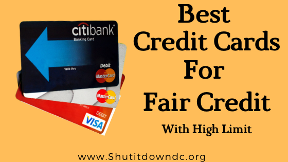 best-credit-card-for-fair-credit