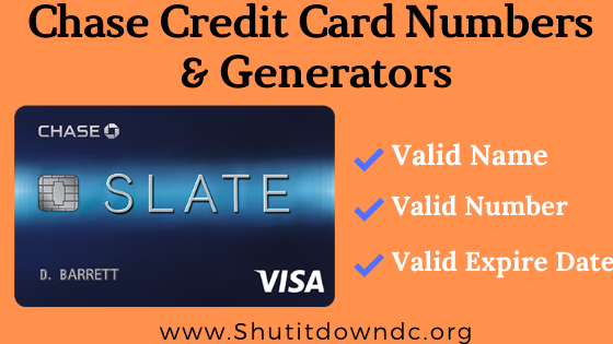 Chase Credit Card Number Generator