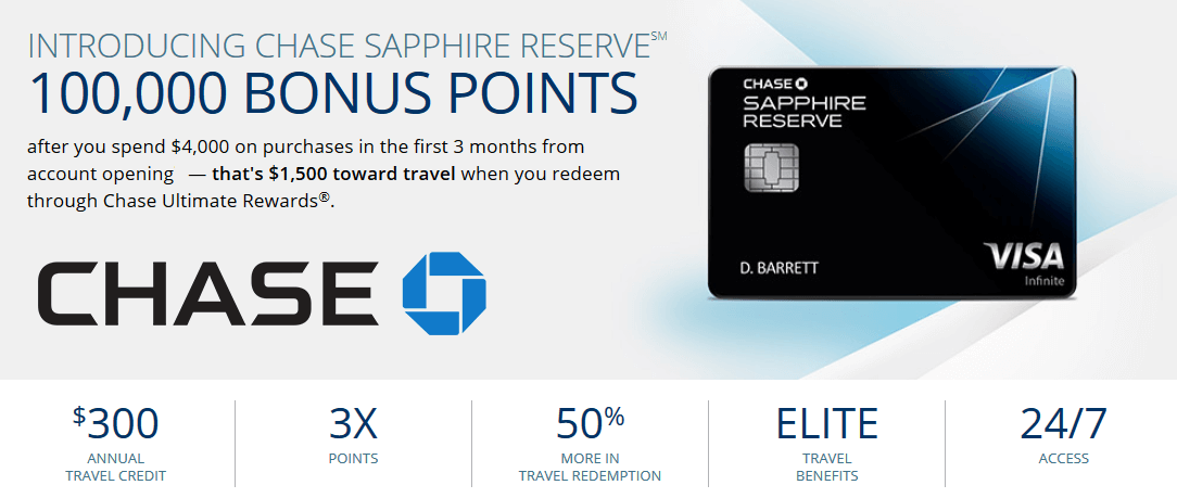 Chase credit card number