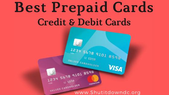 Best Predpaid Credit & Debit Cards