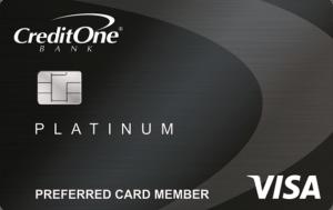 Credit One Bank Platinum Visa