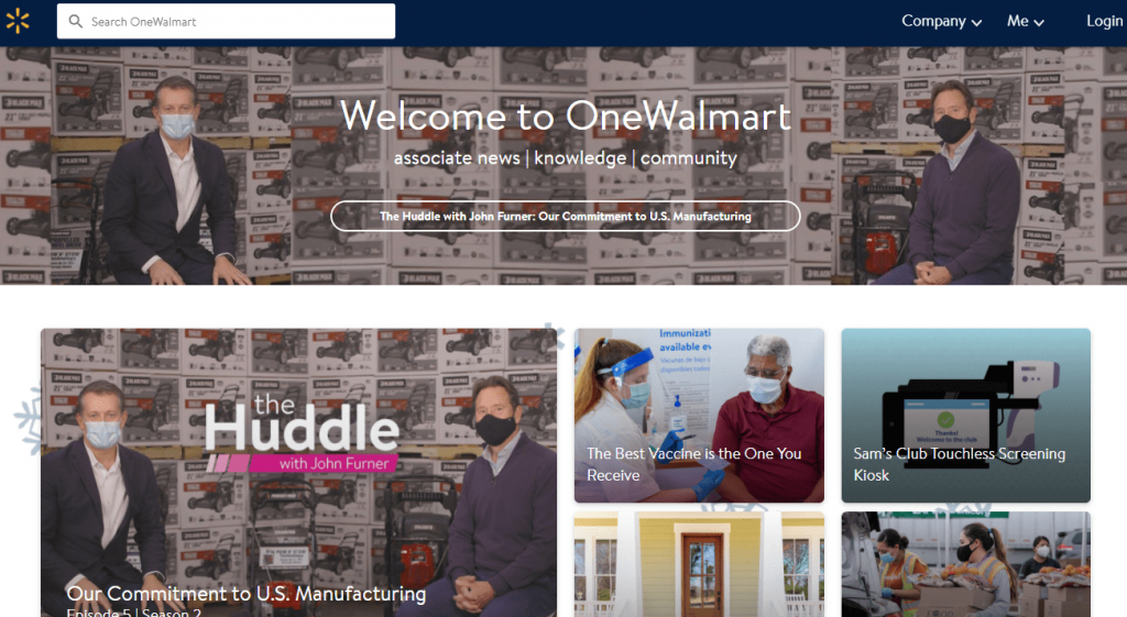 Walmart Site Overview