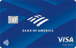The Bank of America Travel Rewards Credit Card for Students