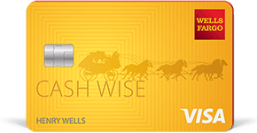 Wells Fargo Cash Back College Card